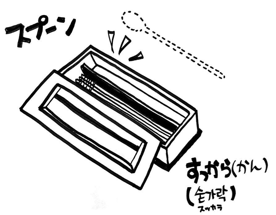 スプーン 日本 語